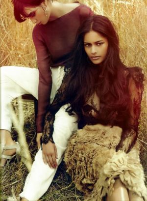 Alyssah Ali and Ocean - Vogue India October 2010.jpg